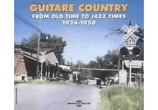 VARIOUS - Guitar Country - (CD)