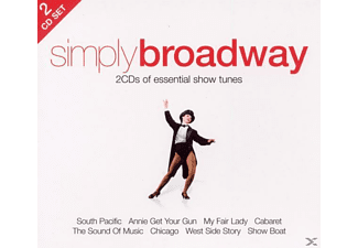 VARIOUS - Simply Broadway - (CD)