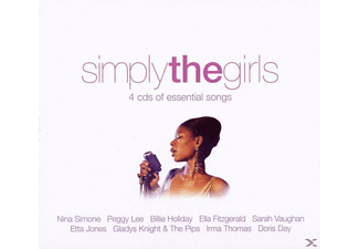 VARIOUS - Simply The Girls - (CD)