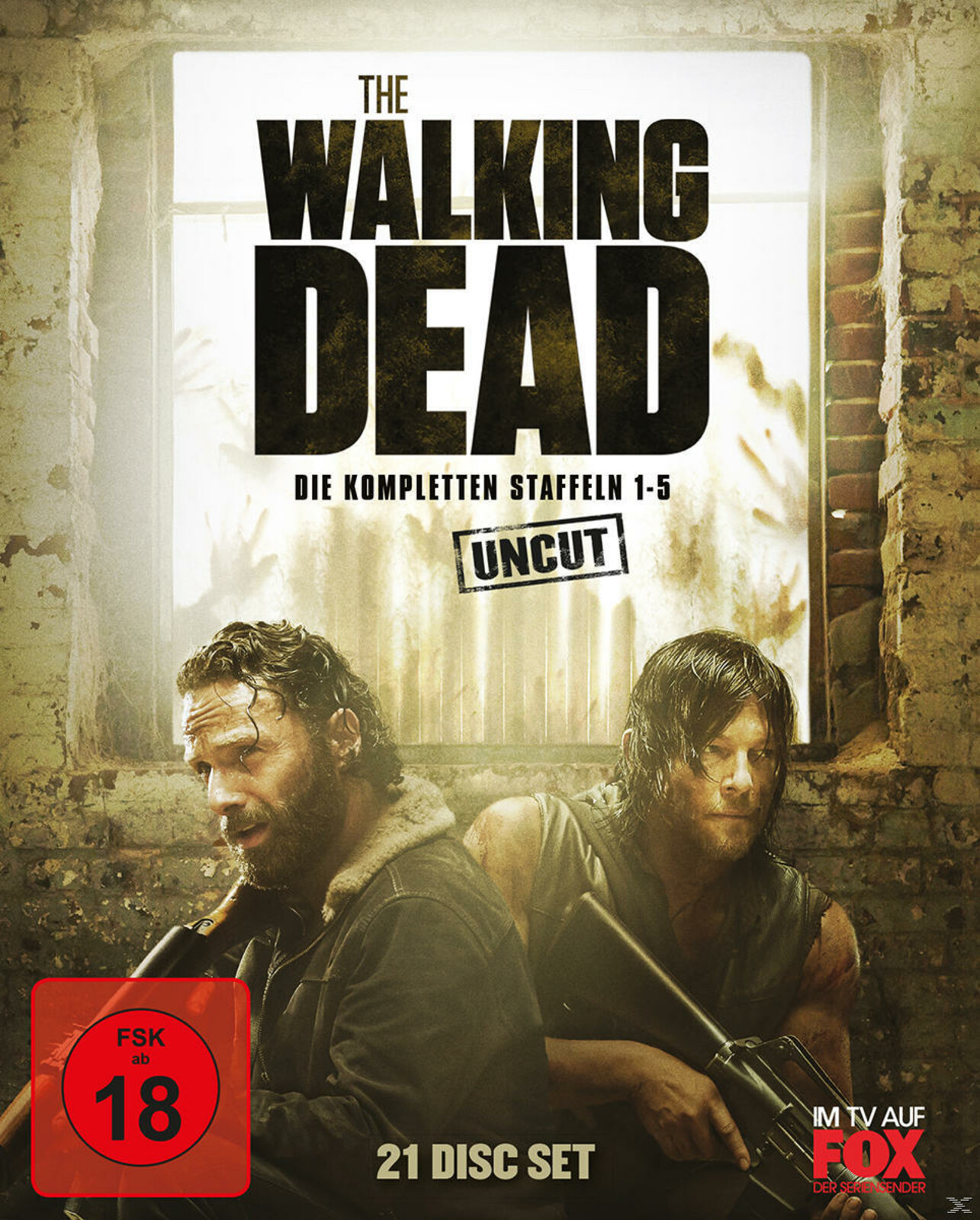 The Walking Dead 1-5 Box - UNCUT (BD) [Blu-ray]