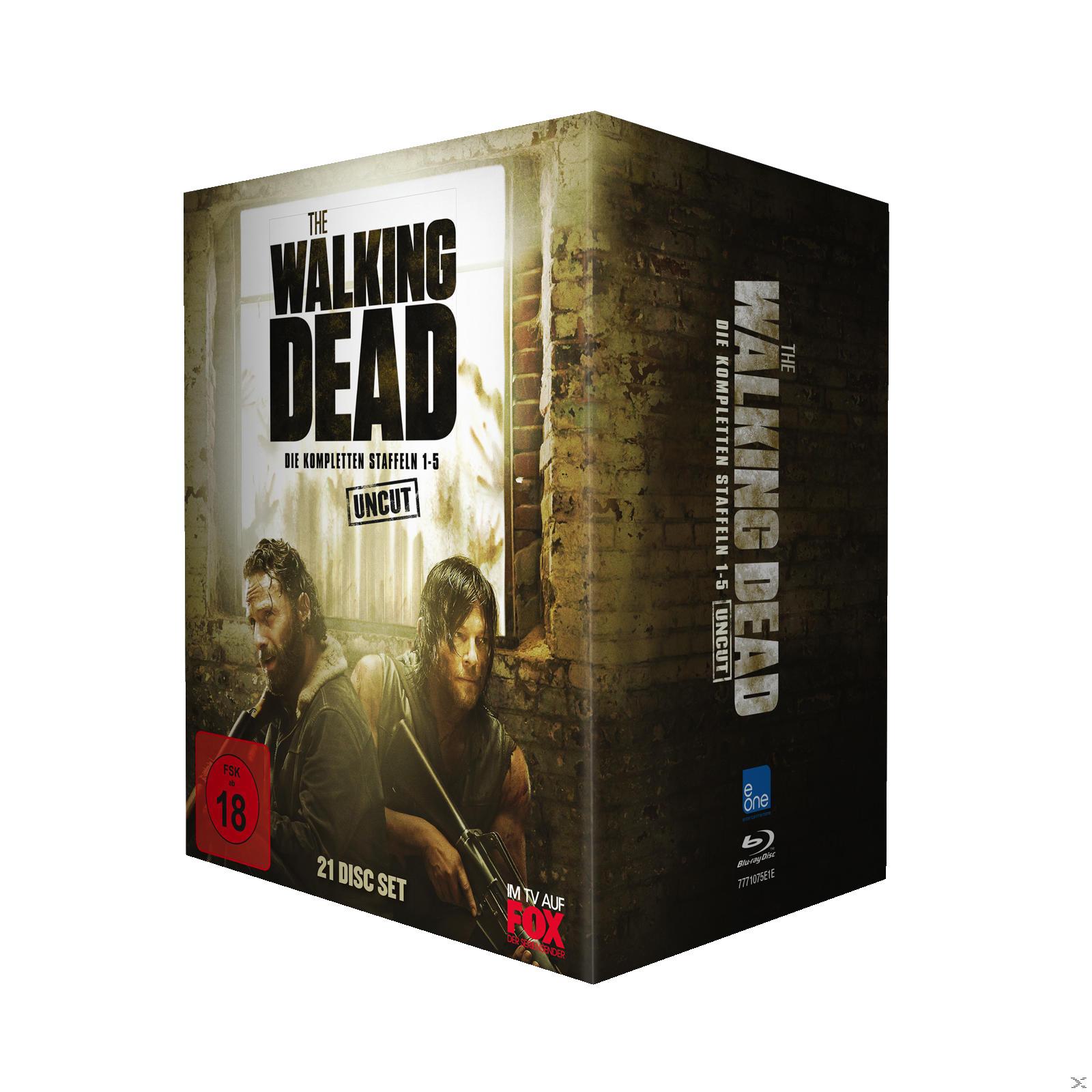The Walking Dead 1-5 Box - UNCUT (BD) [Blu-ray] 2