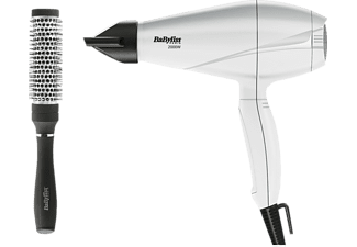 BABYLISS Pro Light 6604WE - Vit Hårfön