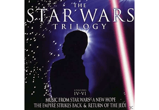 VARIOUS - The Star Wars Trilogy Episodes IV-VI [CD]