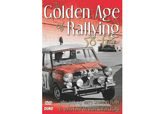 The Golden Age of Rallying 58-68 - (DVD)