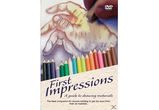 First Impressions - A Guide to Drawing Materials - (DVD)