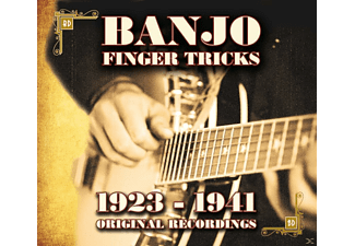 VARIOUS - Banjo Finger Tricks - 1923-1941 Original Recordings - (CD)