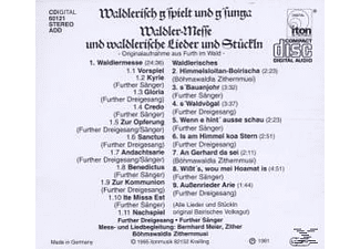 Various - Waldlermesse-Furth Im Wald - (CD)
