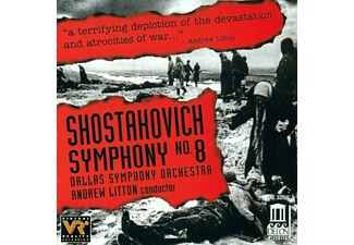Andrew Litton, Dallas Symphony Orchestra - Schostakowitsch:Sinfonie 8 - (CD)