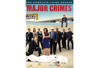 Major Crimes S3 Drama DVD