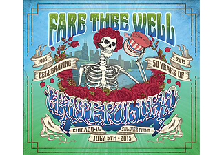 Grateful Dead - Fare Thee Well - Celebrating 50 Years (CD + Blu-ray)