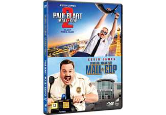 Paul Blart: Mall Cop 1 och 2 Komedi DVD