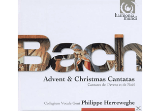 Philippe Herreweghe (leitun Collegium Vocale Gent - Advents-& Weihnachtskantaten - (CD)