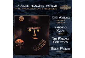 Wright, Wallace Collection - Music For Brass,Piano,Percussion - (CD)