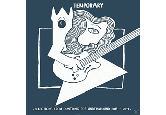 VARIOUS - Temporary (Dunedin's Pop Undergound - (LP + Bonus-CD)