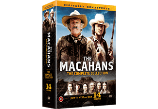 Familjen Macahan The Complete Collection Box DVD