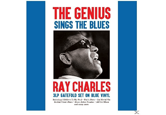 Ray Charles - THE GENIUS SINGS THE BLUES - (Vinyl)