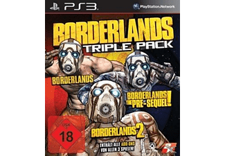 PS3 Borderlands Triple Pack [PlayStation 3]