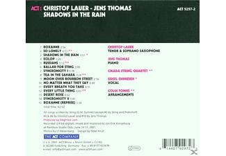 Christof With Jens Thomas & Lauer, Thomas, Jens / Lauer, Christof - Shadows In The Rain - (CD)