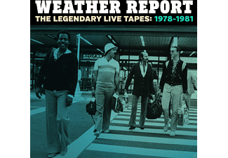 Weather Report The Legendary Live Tapes 1978-1981 CD