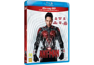 Ant-Man 3D Action 3D BD & 2D BD, Blu-Ray