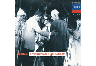 Benjamin  Britten, Various, London Symphony Orchestra - A MIDSUMMER NIGHT S DREAM (GA) - (CD)