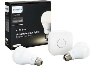 PHILIPS Hue White 9.5W A60 E27 Set
