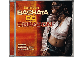 VARIOUS - Best Of Latin-Bachata De Corazon [CD]