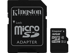 KINGSTON microSDHC UHS-I Class 10 32 GB
