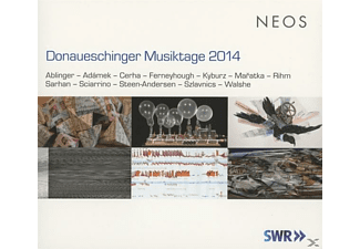VARIOUS - Donaueschinger Musiktage 2014 (+Dvd) [CD + DVD]