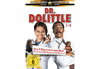 Dr. Dolittle 1-5 DVD-Box - (DVD)
