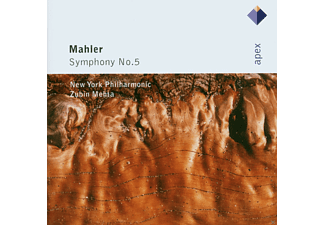 Zubin Mehta, New York Philharmonic - Mahler Symphony No 5 - (CD)