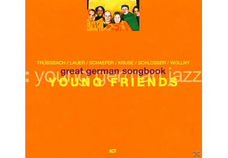 Young, Young Friends - Great German Songbook - (CD)