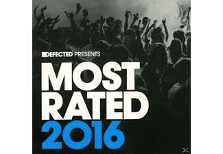 VARIOUS - Defected Pres. Most Rated2016 - (CD)