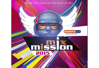 Various - Sunshine Live-Mix Mission 2015 - (CD)