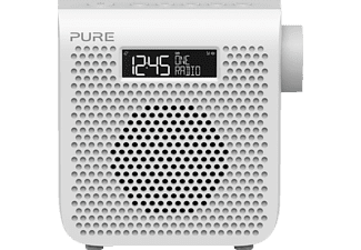 PURE One Mini Series 3 DAB+ Radio (DAB, DAB+, UKW, Weiß)