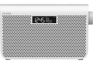 PURE One Maxi Series 3 Digitalradio (DAB, DAB+, UKW, Weiß)