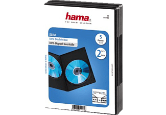 HAMA DVD SLIM DO-BOX BL. 5 τχμ - (51183)