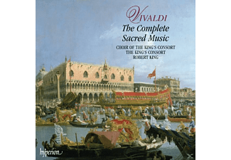 Choir Of The King's Consort, The King's Consort - Antonio Vivaldi: The Complete Sacred Music [Box Set] - (CD)