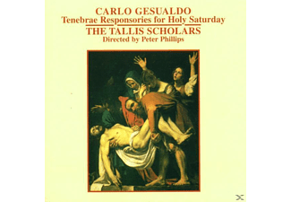 Tallis Scholars,The/Phillips,Peter - Tenebrae Responsories For Holy Saturday - (CD)
