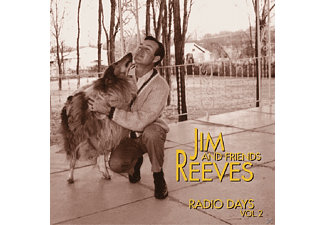 Jim Reeves - Vol.2, Radio Days   4-Cd-Box & - (CD)