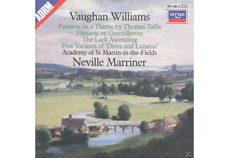 Sir Neville Marriner, Neville/amf/+ Marriner - TALLIS-FANTASIE/LARK ASCENDING/DIVES AND LAZAR - (CD)
