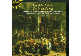 Guildford Chor.Soc./Wetton/POL - 5 Myst.Songs/5 Tudor Portraits - (CD)