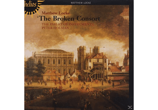 The Parley Of Instruments, Peter/paoi Holman - The Broken Consort - (CD)