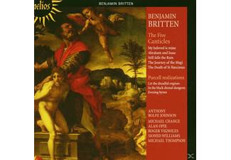 Edward Benjamin Britten, Johnson/Chance/Opie/Vignoles/+ - The Five Canticles/+ - (CD)