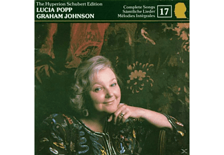 Graham Johnson Piano Lucia Popp Soprano, Popp,Lucia/Johnson,Graham - Schubert Edition Vol.17 - (CD)