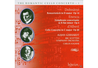 Bbc Scottish Alban Gerhardt Cello, Alban/kalmar/bbcs Gerhardt - Romantic Cello Concerto Vol.01 - (CD)