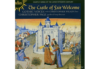 Gothic Voices, Christopher Page: Gothic Voices - The Castle Of Fair Welcome - (CD)