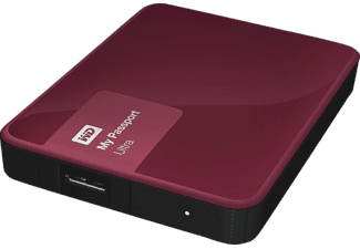 WESTERN DIGITAL My Passport Ultra 2ΤΒ Classic Berry - (WDBBKD0020BBY-EESN)