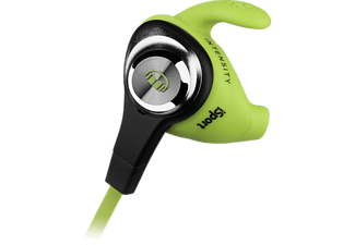 MONSTER iSport Intensity, In-ear Kopfhörer, Grün