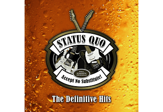 Status Quo Accept No Substitute-The Definitive Hits CD